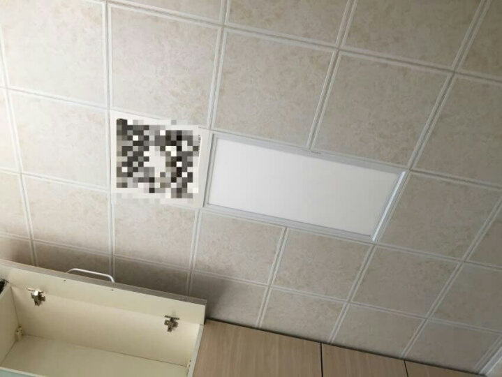 奥普(AUPU)照明灯LED平板灯厨房卫生间阳台嵌入式灯具正白光高亮度搭配奥普浴霸凉霸换气扇享优惠价 奥普长灯白框(300X600) 晒单图
