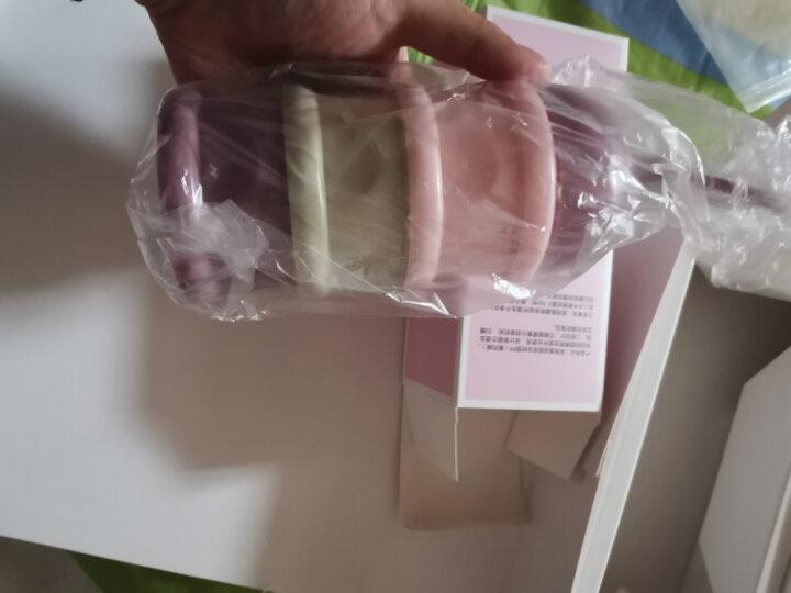 可么多么 (COMOTOMO) 新生儿婴儿 宽口径硅胶断奶奶瓶奶嘴(0-6个月)原装进口大小套装 晒单图