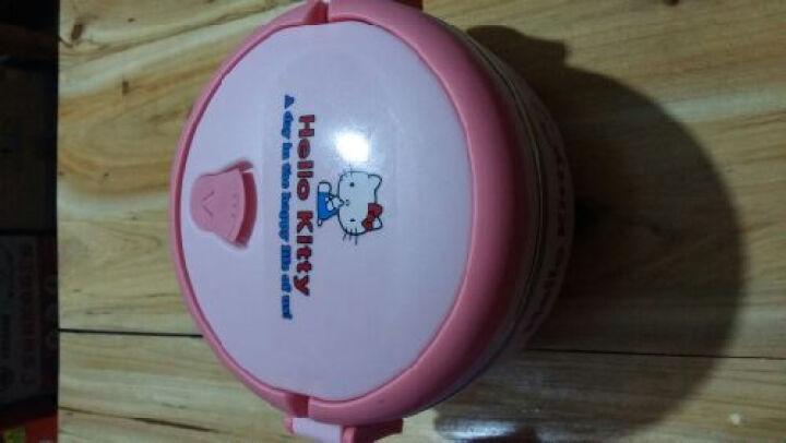 特儿福(TEERFU) 特儿福 儿童餐具套装 手提保温饭盒宝宝碗婴儿餐具不锈钢小学生饭盒 史努比(白色) 饭盒 晒单图