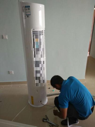 美的(Midea)2匹 二级能效 圆柱柜式定速智能冷暖空调 KFR-51LW/WYAD2@ 晒单图