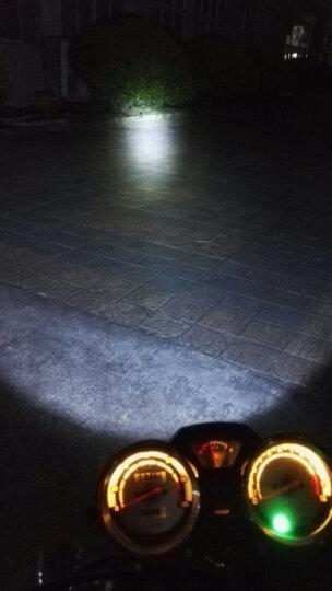 魅星 摩托车改装led高亮聚光前大灯半总成大太子小太子LED前大灯 三轮车 电动车改装配件 大太子led大灯 晒单图