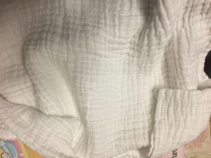 全棉时代   婴儿隔尿垫可洗大号宝宝针织复合防水隔尿床单 90X70cm 1条装 蓝色小熊 晒单图
