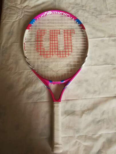 【京东仓已穿线】威尔胜(Wilson)网球拍 初学拍 大学生男女入门进阶级单人网球课一体拍  带拍套 WRT3151蓝白碳复合 晒单图
