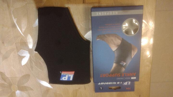 LP704护踝运动透气性踝关节稳固护套跑步登山防护护具保暖护踝 黑色 单只 L 25.4-30.5cm 鞋子码数40-42码 晒单图