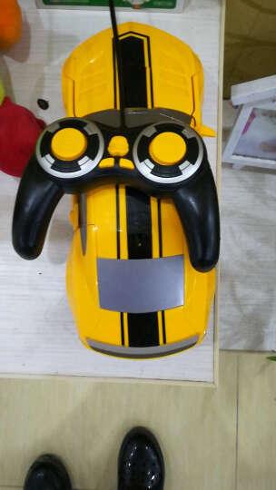 德馨1:12大尺寸儿童遥控车一键变形机器人玩具车充电模型汽车人 男孩赛车生日礼物节日礼物 4.8V原装充电电池组一块 晒单图