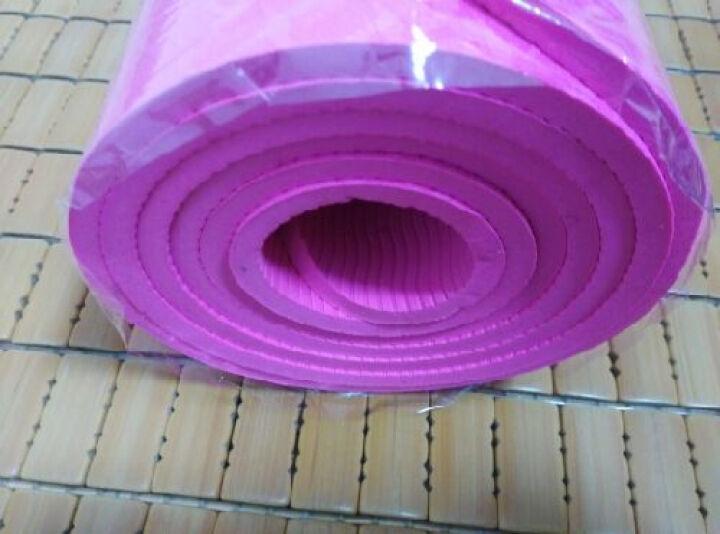 创思维 瑜伽TPE6MM标准瑜伽垫环保健身垫男女减肥瘦身运动健身器材瑜伽毯防滑垫CSW75 紫色 赠送背包 晒单图