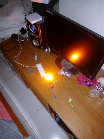 TaoTimeClub 大功率LED灯珠 3W黄光 黄色 散光 3W  130-150LM 晒单图