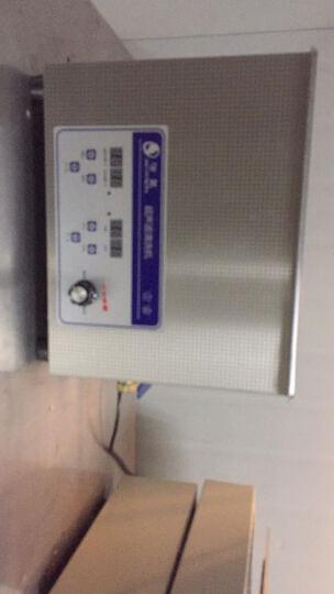 洁盟(skymen) 超声波清洗机 实验室精密仪器清洗器 10L JP-040ST 浅灰色 晒单图