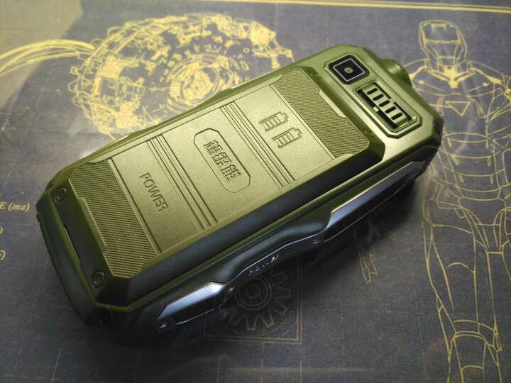 SAMWEI C20【6800毫安 长待机】 4G电信老人机  老年手机电信三防 男 绿色  老年电信版 晒单图