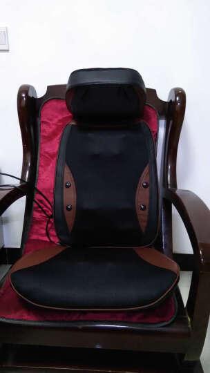 德国佳仁(JARE)666-6颈椎按摩器 按摩靠垫全身 颈部腰部肩部按摩椅垫 按摩仪 泰式推拿款(停售) 晒单图