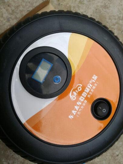 车太 太车载充气泵便携式汽车充气泵数显胎压夜光表汽车打气泵 充气泵+手套+补胎工具 晒单图