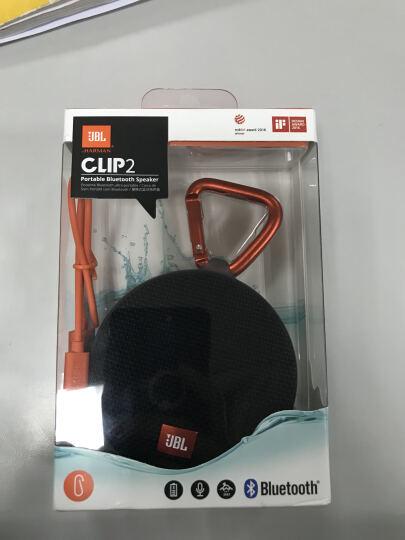 JBL CLIP2 无线音乐盒二代 蓝牙便携音箱 低音炮 户外迷你小音箱 防水设计 在线网课 居家教育 蓝色 晒单图