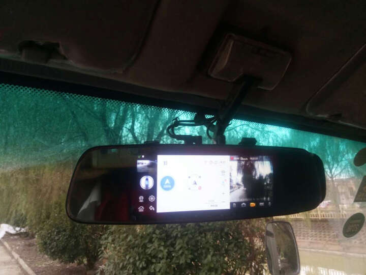 丁威特10英寸行车记录仪高清单双镜头4G智能后视镜导航带云电子狗测速汽车车载导航仪停车监控一体机 32G+10英寸曲面大屏流媒体无光夜视导航+双录 曲面大屏+前后双录 晒单图