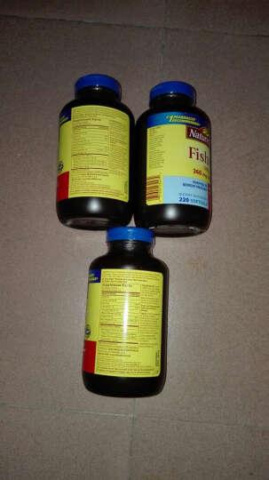 天维美(Nature Made)深海鱼油软胶囊220粒 进口鱼油 调节三高降血脂降血压保护 鱼油220粒 3瓶装 晒单图