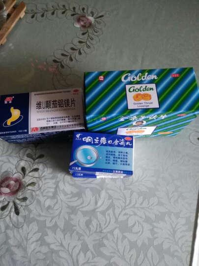 都乐 金嗓子喉片  12粒/盒 急性咽炎 咽喉肿痛 干燥灼热 声音嘶哑 晒单图