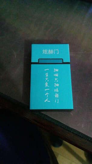 女士烟盒 20支装包铝加长女士细烟磁性翻盖创意个性烟盒收纳盒 炫赫门 晒单图