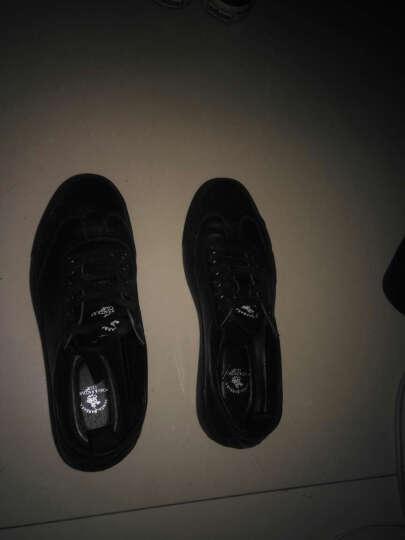 圣大保罗休闲鞋男鞋真皮系带板鞋男鞋子韩版平底滑板鞋潮 白色 41 晒单图