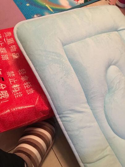 星蕙家纺 儿童床垫4D立体柔软珊瑚绒婴儿床褥子 婴儿床垫被 学生幼儿园床褥被 驼色 60*135cm 晒单图