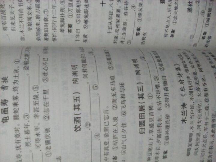 2021版包邮 5五年中考3三年模拟 初三9九年级上册语文书人教版初中同步五三同步练习册 晒单图