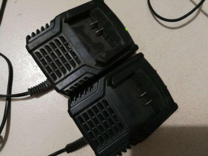 千辰无刷电动扳手/架子工扳手/脚手架扳手/电动板手/冲击扳手/锂电扳手 充电钻 无刷电机36V6000毫安一电一充 晒单图