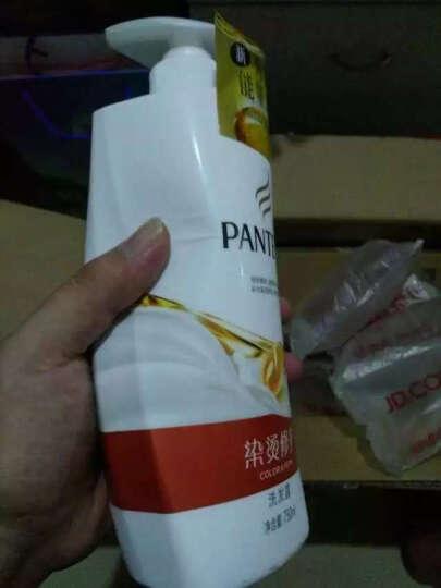 潘婷洗发水染烫修护400ml(洗发露 秀发能量水 新老包装随机发送) 晒单图