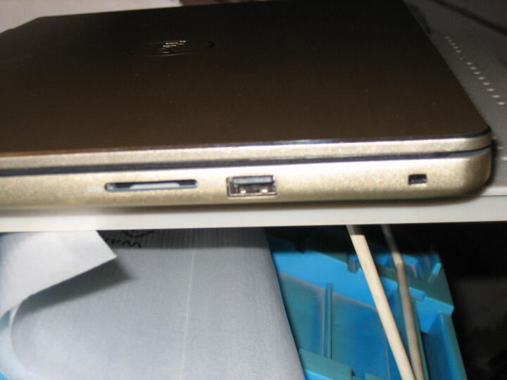 戴尔DELL灵越燃7000 R1525G 14.0英寸轻薄窄边框笔记本电脑(i5-7200U 4G 128GSSD+500G 940MX 2G独显 FHD)金 晒单图