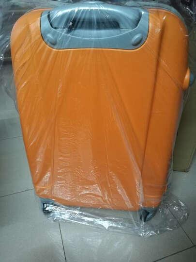 泊客行者blomberg 糖果色拉杆箱24英寸ABS材质6454荧光橙 晒单图