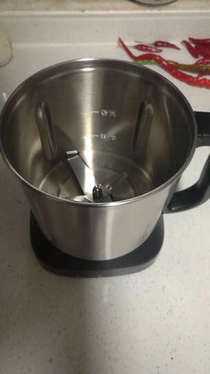 SKG 榨汁机加热破壁机多功能料理机2092 不锈钢干研磨 双杯辅食机 红色 晒单图