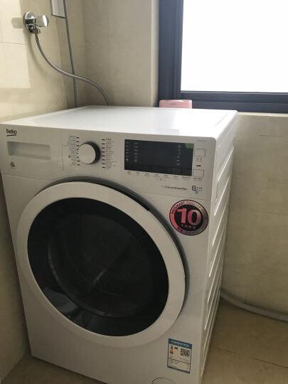 倍科(BEKO)85WI 8公斤 变频滚筒洗衣机  整机原装进口洗烘一体机 白色 晒单图