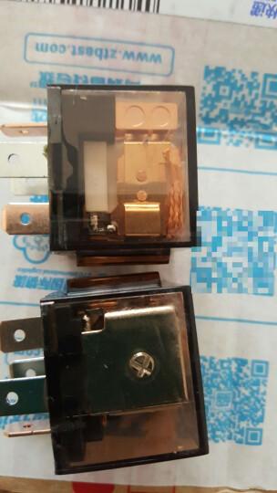乐讯汽车大灯风扇电机空调压缩机雨刷12V80A防水纯铜四五插继电器 5号空调继电器 晒单图