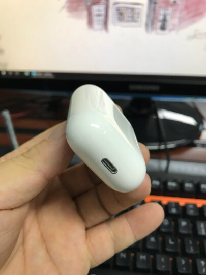 Apple 采用闪电接头的 EarPods 晒单图