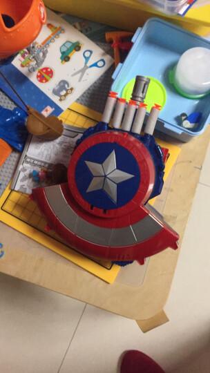 美国队长盾牌 电动声光枪连发儿童玩具枪 中国队长标准版 晒单图