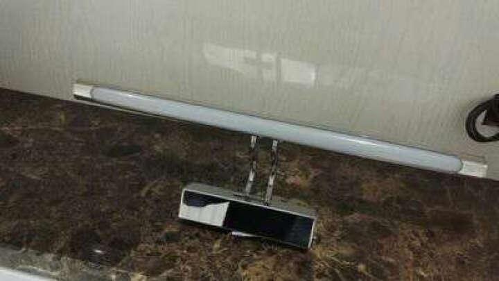 雷士(NVC) 雷士照明 LED镜前灯 简约现代灯具浴室防水防雾卫生间壁灯 EMB9026/6A 6W(适合贴墙镜子使用) 晒单图