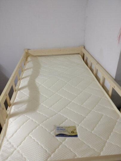 家乐美梦宝 海绵床垫席梦思高密度回弹软榻榻米床褥子学生成人 单/双人1.8 可拆洗压缩折叠 白色针织耐磨布10CM厚 1.2*2.0米 晒单图