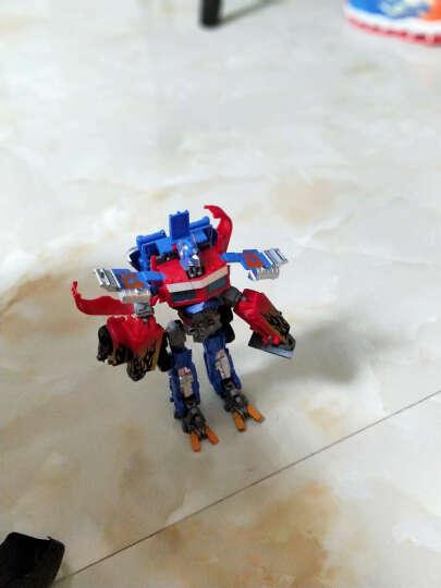 胜雄 变形玩具机器人金刚仿真模型一键遥控变形汽车人布加迪威龙儿童男孩礼物变形金刚 布加迪威龙 红色(遥控感应双模式) 晒单图