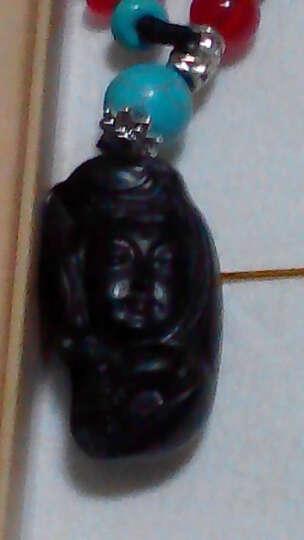 格律车饰 汽车钥匙扣 乌木雕刻工艺钥匙链 男女士腰挂钥匙链挂件 创意葫芦钥匙圈 平安符 观音菩萨 晒单图