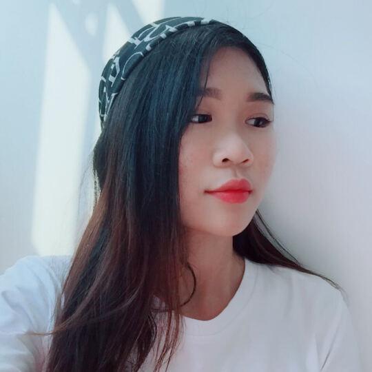 美丽公主(BEAUTIFULPRINCESS) 唯美气质头巾发带发箍洗脸发套运动女头饰品 18#涂鸦灰色 晒单图