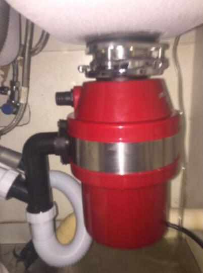 品勒(PiADLIEK)垃圾处理器厨房厨余粉碎机处理机家用可接洗碗机PL700 黑色+遥控 晒单图