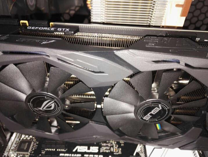 华硕(ASUS)ROG STRIX-GeForce GTX1080-O8G-11GBPS 1695-1860MHz 11GHz GDDR5X 猛禽电竞游戏显卡 晒单图