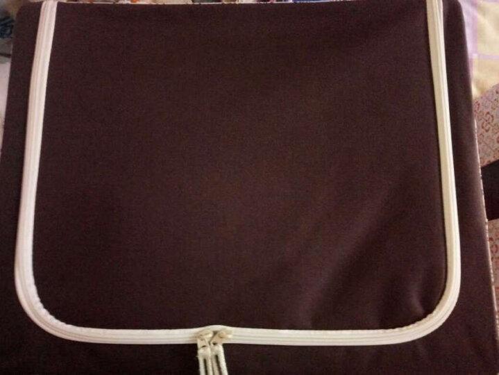 百草园 牛津布三面可视收纳箱 衣服杂物整理箱储物箱(60L+46L) 2个装 橘黄色 晒单图