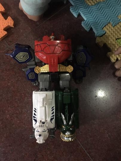 壁安 天地神兽金刚玩具五合一体机器人儿童益智模型变形玩具 天神超人激光剑(颜色随机发货) 晒单图