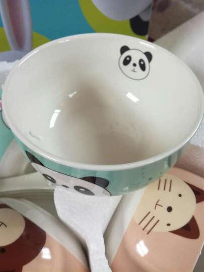快乐之朱 创意陶瓷碗 套碗 家用小碗 儿童米饭碗套装 可爱碗 卡通餐具8件套装 礼品 晒单图
