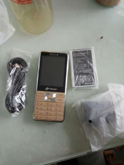 天语(K-TOUCH)X71 移动/联通2G 直板按键 双卡双待 老人手机 学生备用功能机 黑色 晒单图