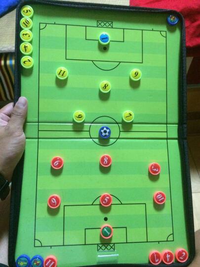 足球战术板 教练示教板 折叠战术板磁性战术盘 足球试教板 二折拉链式磁性战术板 晒单图
