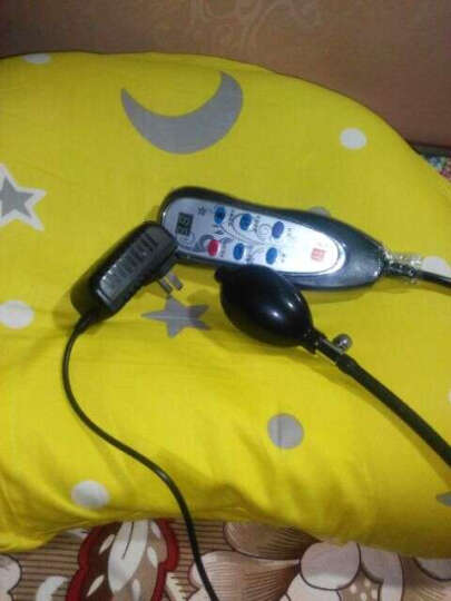 颈椎枕头修复颈椎专用睡眠护颈枕加热疗成人高低牵引磁石保健理疗枕头 普通元宝款(草本+磁石+充气调节) 晒单图