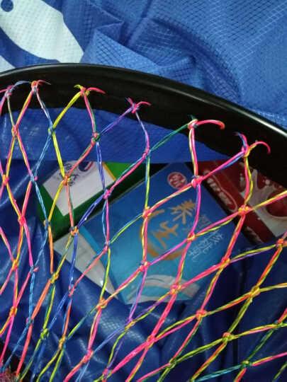 民间艺人 黑坑鱼护竞技尼龙手工编织炫酷渔护网钓鱼垂钓用品 大号炫彩3.0米直径45cm 晒单图