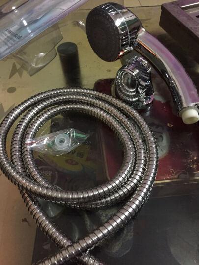 逸花(YIHUA)6-A1-A淋浴花洒喷头套装 增压手持莲蓬头软管支架底座三件套 晒单图