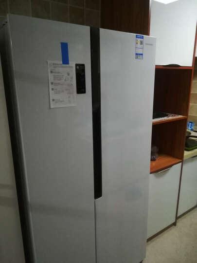 容声(ronshen)526WD11HY+D1218BW 526升无霜纤薄对开门冰箱 8公斤变频滚筒洗衣机 冰洗套装组合 晒单图