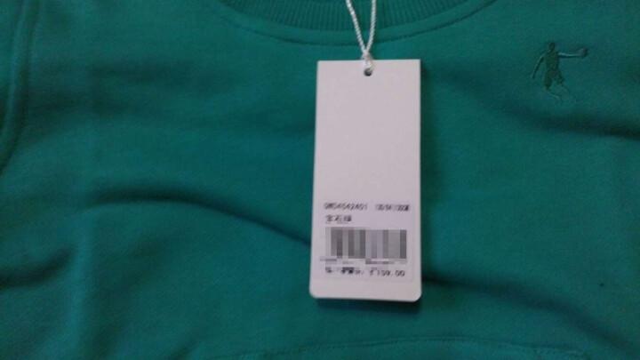 乔丹官方旗舰店童装 男童套头衫大童小童儿卫衣 鲜红 150CM 晒单图