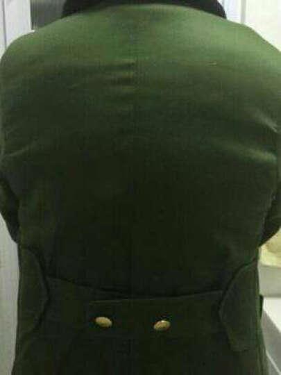 科乐士(Choreusy)军大衣男冬季加厚长款荒漠迷彩棉大衣女劳保黄棉衣棉服保安防寒服 草绿【防水绿毛】 大号(适合140-190斤的穿) 晒单图